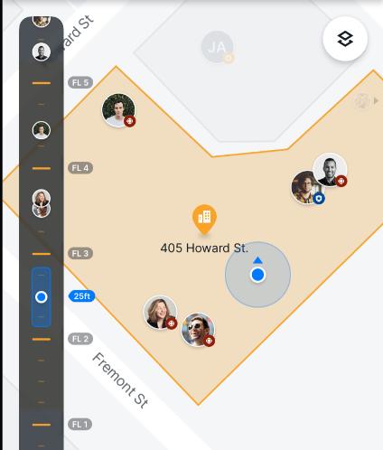 2D map plus NextNav Altimeter