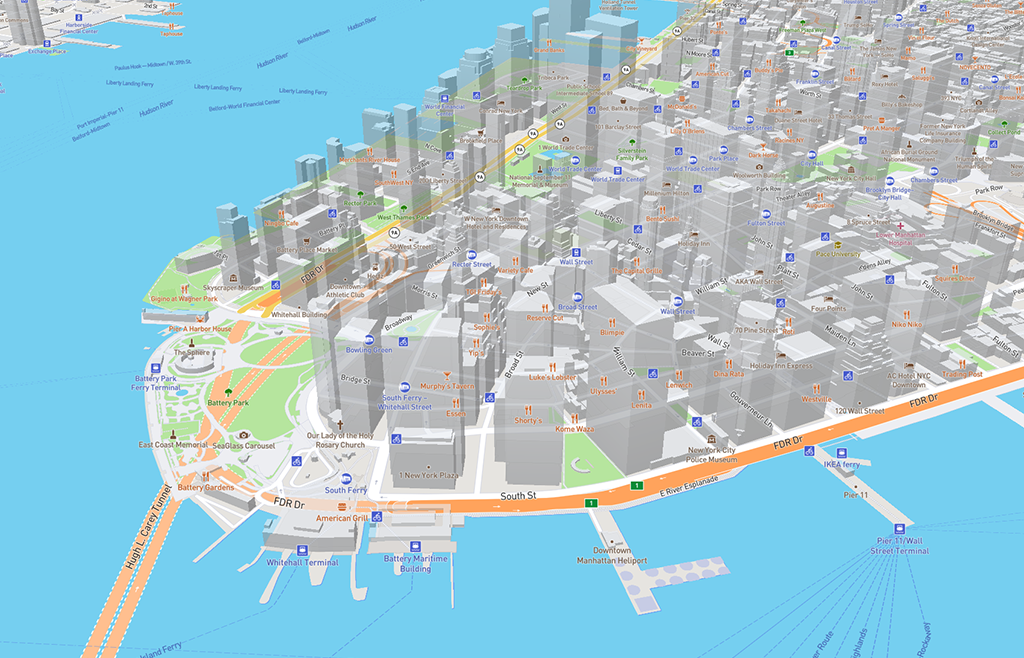 NYC 3D with labels (ugh)